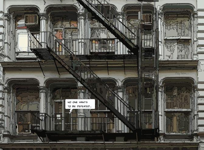 Grey building -- Medium 100x70 259€ // Large 150x110 479€