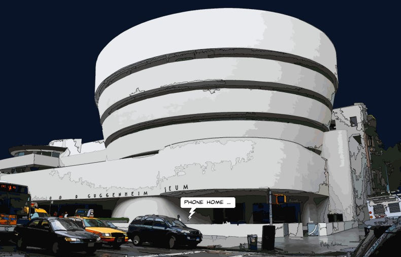 Guggenheim -- Medium 90x60 229€ // Large 140x90 429€