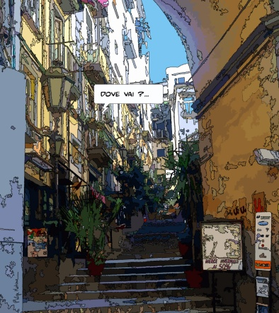 Napoli, Dove vai -- Medium 80x90 259€ // Large 100x110 329€