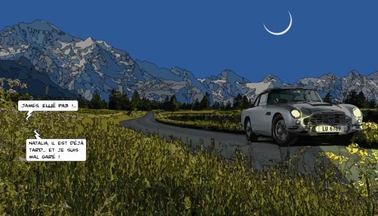 Aston Martin night -- Medium 90x50 219€ // Large 140x80 429€