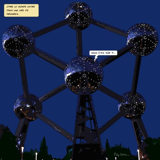 Bruxelles Atomium -- Medium 80x80 239€ // Large 100x100 299€