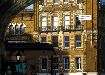 London St John street-- Medium 100x70 259€// Large 140x100 429€