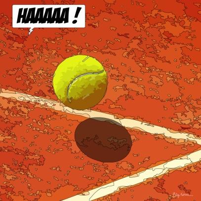 Tennis -- Medium 80x80 239€ // Large 100x100 299€