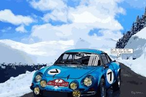 Alpine -- Medium 100x70 259€ // Large 150x100 459€