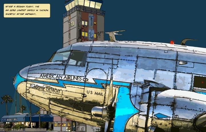 DC3 Tucson -- Medium 90x60 229€ // Large 140x90 429€