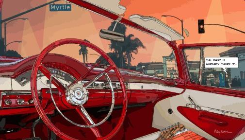 Myrtle blvd-- Medium 90x50 219€ // Large 140x80 429€