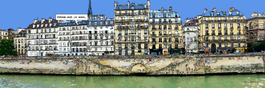 Quai aux fleurs -- Small 120x40 259€ // Medium 150x50 369€ // Large 180x60 429€