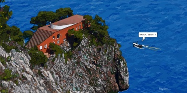 Villa Malaparte -- Medium 120x60 299€ // Large 160x80 479€